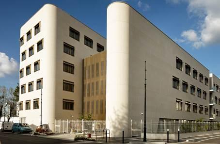 Immeuble de bureaux newside sterling quest associates for Immeuble bureaux hqe