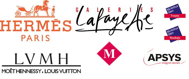 Logos commerces